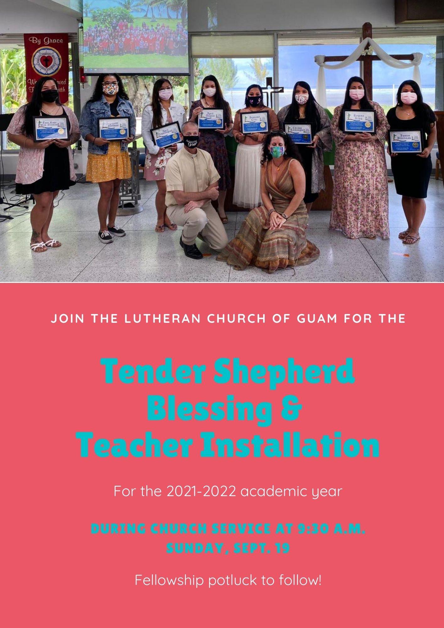 Tender Shepherd Blessing & Teacher Installation